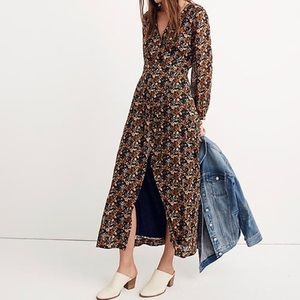 NWT Madewell Nightflower Maxi Dress